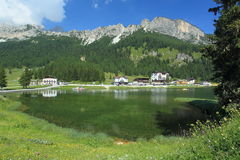 Lake Misurina Royalty Free Stock Photo