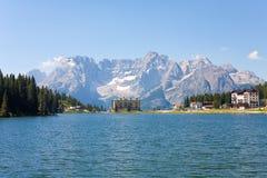 Lake Misurina Stock Images