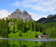 Lake Misurina Royalty Free Stock Image