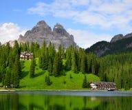 Lake Misurina Royalty Free Stock Image