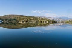 Lake Mladost. Near city of Veles, Macedonia Royalty Free Stock Photography