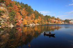 Lake Mohonk Tranquility Royalty Free Stock Image