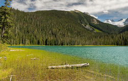 Lake with mointains Stock Image