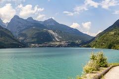 Lake Molveno in Italy Royalty Free Stock Image