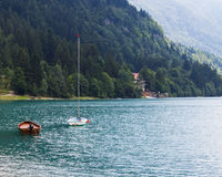 Lake Molveno Royalty Free Stock Image