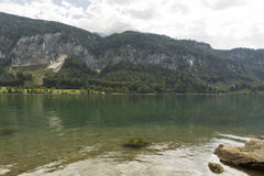 Lake Mondsee in Austrian Alps Royalty Free Stock Images