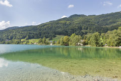 Lake Mondsee in Austrian Alps Stock Photos