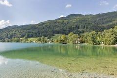 Lake Mondsee in Austrian Alps Stock Photos
