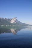 Lake Mondsee Dragonwall Royalty Free Stock Photography