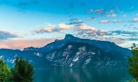 Lake Mondsee Royalty Free Stock Photography