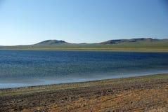 Lake in Mongolia Stock Image