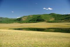 Lake in Mongolia Stock Photos