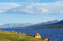 Lake in Mongolia Stock Images