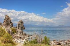 Lake Mono, America Royalty Free Stock Photography