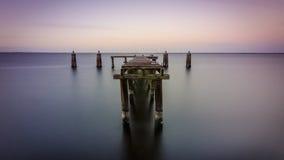 Lake Monroe Dock royalty free stock image