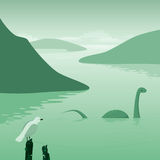 Lake monster Stock Images
