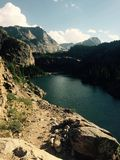 lake montana Fotografering för Bildbyråer