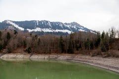 Lake Montsalvens, Switzerland Royalty Free Stock Photography