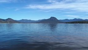 Lake Moogerah in Queensland. Lake Moogerah on the Scenic Rim in Queensland during the day stock video footage