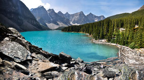 Lake Moraine Royalty Free Stock Photography
