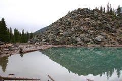 Lake Moraine Royalty Free Stock Photography