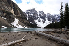 Lake Moraine Stock Photography
