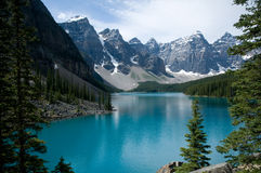 Lake Moraine Royalty Free Stock Photo