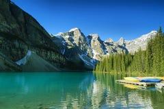 Lake Moraine Stock Image