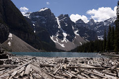 Lake Moraine Stock Photos