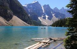 Lake Moraine Royalty Free Stock Photos