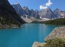 Lake Moraine Ledge Royalty Free Stock Image