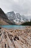 Lake moraine Royalty Free Stock Image
