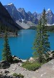 Lake Moraine Vista Stock Image