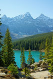 Lake_moraine2 Photos stock