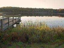 Lake Morning Stock Photo