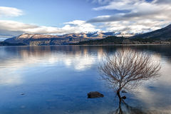 Lake morning calm 06 Royalty Free Stock Photo