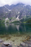 Lake Morskie Oko. Tatra National Park, Zakopane, Poland Royalty Free Stock Photo