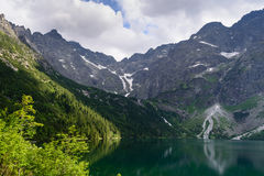 Lake Morskie Oko. Tatra National Park, Zakopane, Poland Royalty Free Stock Photos