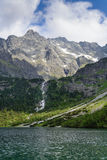 Lake Morskie Oko. Tatra National Park, Zakopane, Poland Royalty Free Stock Images