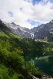 Lake Morskie Oko at Tatra National Park. Tatra National Park, Zakopane, Poland Stock Photo