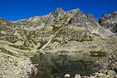 lake mountain Arkivbilder