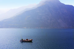 Lake and mountain Royalty Free Stock Image