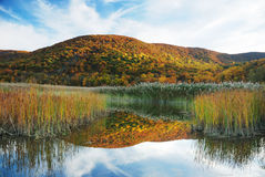 Lake Mountain stock photography