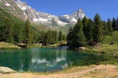 Lake and mountain Stock Photos