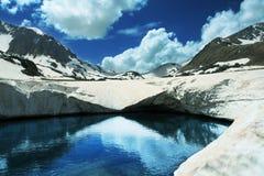 Lake in mountain Royalty Free Stock Image