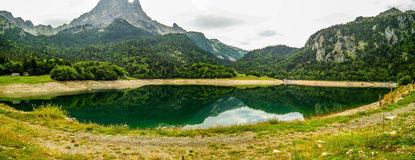 Lake in the mountain Stock Images