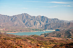 Lake. A lake in mountain in Beijing suburb Royalty Free Stock Images