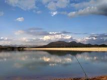 lake & mountain royalty free stock image