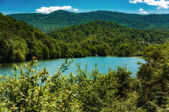 Lake in mountain Royalty Free Stock Photography
