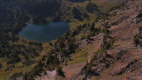 Lake mountain landscape. Video of lake mountain landscape stock footage